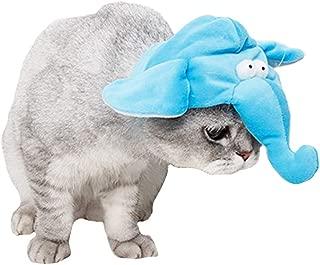 FLAdorepet Halloween Pet Elephant Costume for Cat Dog Giraffe Hat