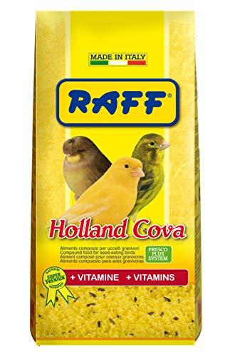 RAFF Holland COVA 1KG - con VITAMINE ALIMENTO per Uccelli GRANIVORI