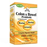 Terry Naturally Colon & Bowel Probiotic - 20 Billion Active Cells, 30 Vegan Capsules - Relieves Occasional Gas, Bloating, Constipation, Diarrhea & Cramping - Non-GMO, Gluten-Free, Kosher - 30 Servings
