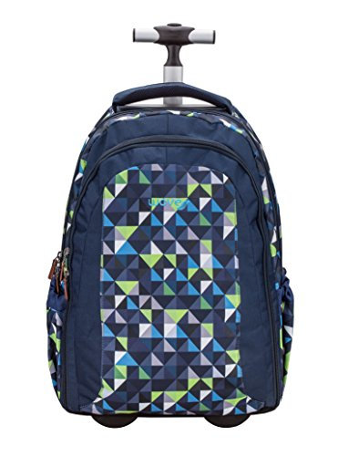 Belmil Rucksack-Trolley Easy Go Green Puzzle
