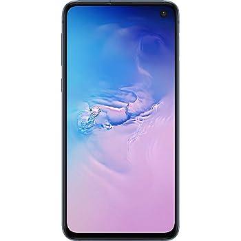 Samsung Galaxy S10e, 128GB, Prism Blue - Fully Unlocked (Renewed)