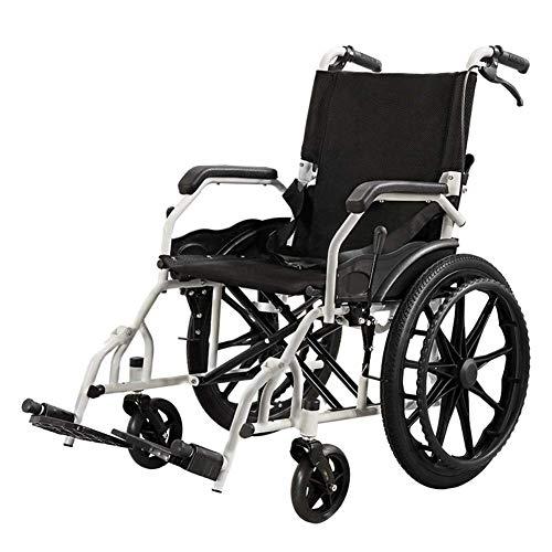 Y-L gehandicapte ouderen opvouwbare rolstoel met bureau-lengte armen en Swing-Away beensteunen, 17.71 x 17.71 zitting, antimicrobiële bescherming
