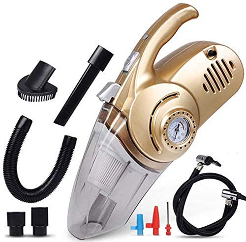 Best Deals! GXFC Handheld Vacuum Cleaner, Cordless Car Vacuum Cleaner Lightweight Wet Dry Vacuum Rec...