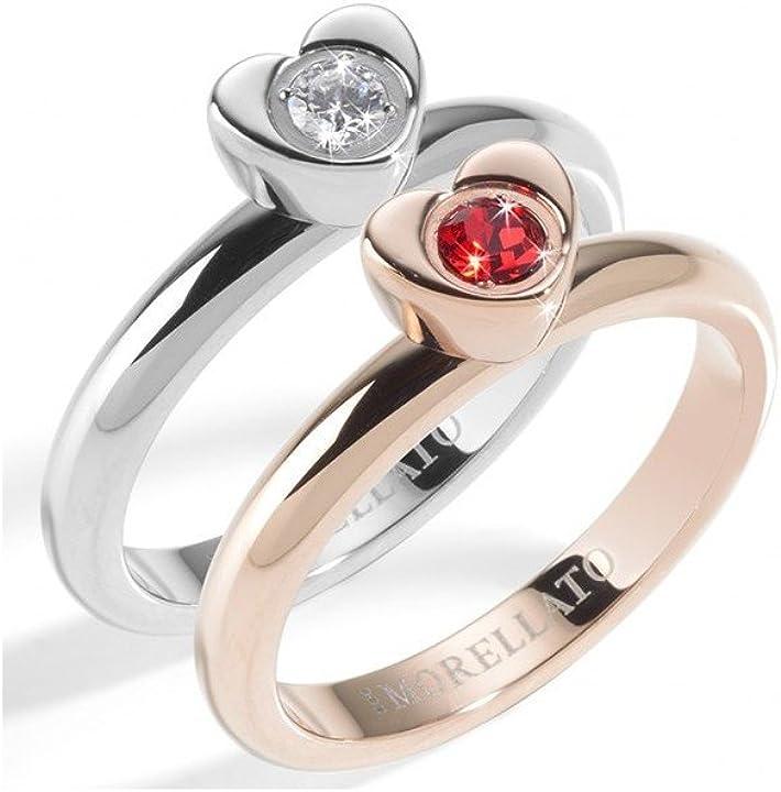 Anello morellato love rings donna - sna32014 no-metal-stamp