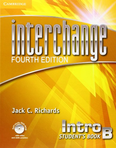 Interchange Intro B - Student´s Book With Online Self-Study and Online Workbook - 04 Edition