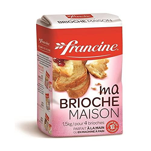 FRANCINE - Brioche Maison 1.5Kg - Lot De 2 - Vendu Par Lot