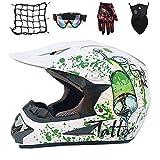 ットモトクロスヘルメットオートバイオフロードヘルメットロードラリーヘルメットアウトドアレーシングヘルメットマウンテンバイクヘルメット - 人格パターン (D2, S)