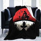 Manta de Anime, Manta de Franela súper Suave, Ropa de Cama cómoda Impresa en 3D para sofá, Todas Las Estaciones 60x50in