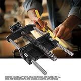 Vise de carpintería, abrazadera de mesa de trabajo pesado de 7'para carpintería para cama Clip de visera metálica Herramienta de vicio de reparación fija