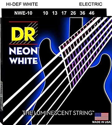 DR Strings HI-DEF NEON Electric Guitar Strings (NWE-10)