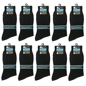 メンズ 靴下 黒 10足セット 抗菌 防臭 ビジネス ソックス 大きな サイズ