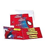 Spider-Man Verbetena 014300013 6 Einladungskarten mit Umschlag