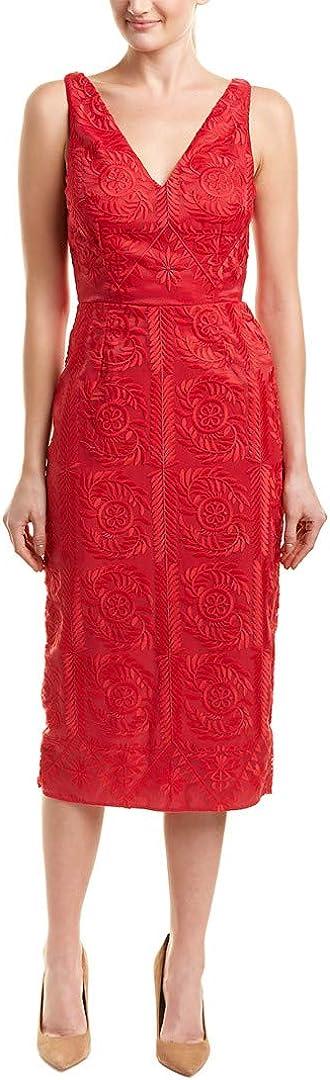 findersKEEPERS Women's Spectrum Lace V Sleeveless Midi Dress