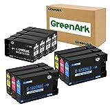 GREENARK Compatible for Canon 1200XL PGI-1200 PGI1200XL Ink Cartridge PGI-1200XL BK/C/M/Y 10 Pack Combo Use for Canon Maxify MB2720 MB2320 MB2020 MB2120 MB2350 MB2050 Printers