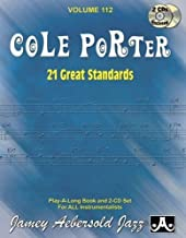 Play-A-Long Series, Vol. 112, Cole Porter: 21 Great Standards (Book & 2-CD Set) (Jazz Play-A-Long for All Instrumentalists)