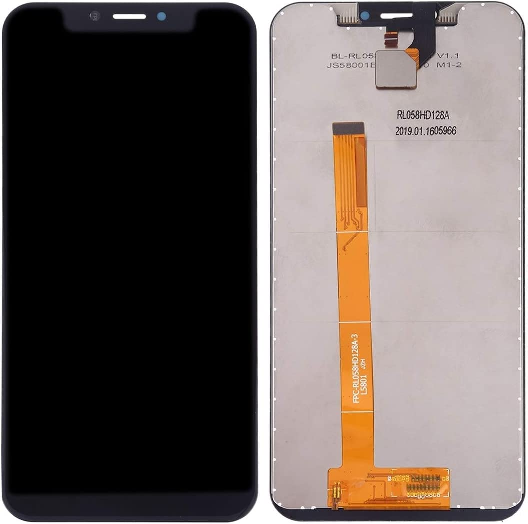 EasePoints for LCD Screen and Digitizer Full Assembly for Leagoo S9 Color : Black Repair Part Black