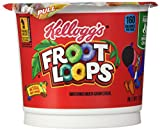 Froot Loops Breakfast Cereal, Single-Serve 1.5oz Cup, 6 Cups/Box