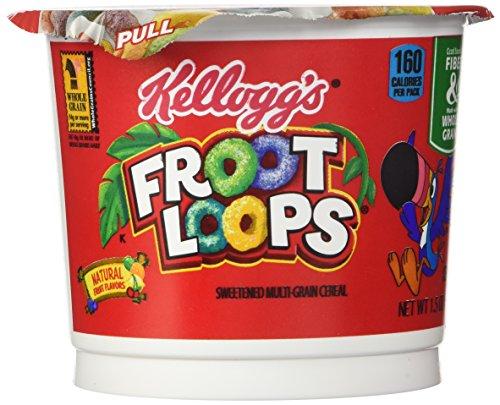 Kelloggs Froot Loops Cup (6x42g)