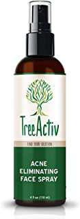 TreeActiv Acne Eliminating Face Spray, Facial Toner with