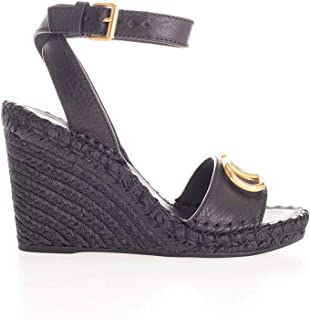 VALENTINO Luxury Fashion Womens SW2S0N73LAT0NO Black Wedges | Fall Winter 19