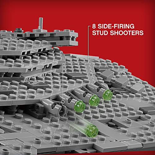 LEGO Star Wars Croiseur Premier Ordre Star Destroyer First Order 75190 - 1416 Pièces - 5