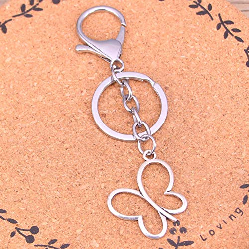 Metal Key Ring Gift Hollow Butterfly Keychain Keyring