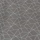 Stoff mit abstraktem Origami-Muster, 100 % Baumwolle,