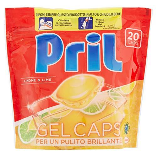 Pril–Gel Caps, Multifunktionsgerät Concentrate für Spülmaschine, 400g
