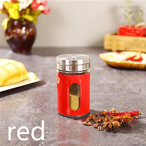 GEEN BAND Kruiden Boxen RVS Condiment Container Poeder blikjes Pepper Fles Keukengerei Barbecue Cruet