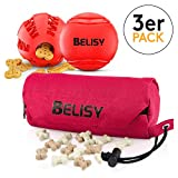 BELISY Intelligentes Hundespielzeug Set I Hundeball, Dentalball & Futterdummy