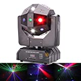 Strobe Beam Laser Moving Head Disco Light for DJ Stage Show Effect Wedding Lighting 18CH for Dance Floor, Club, Party