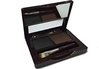 M.n cosmetics eyebrow powder with brush black color with brown color