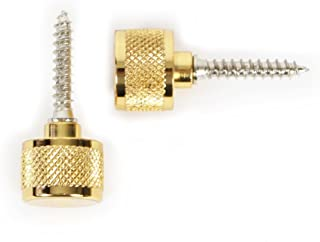 Gretsch Strap Buttons with Mounting Hardware for Guitars, Gold