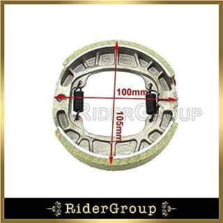 TC-Motor CG125 105mm Brake Drum Shoe For Baja Motorsports Mini Bike MB165 /& MB200 GY6 50cc 125cc 150cc Scooter Moped