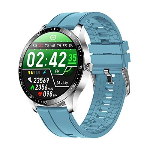 YDZ Monitor De Sueño con Ritmo Cardíaco S80 IP68 Hombres Inteligentes Impermeables Hombres Fitness Fitness Ejercicio 2021 Smartwatch para iOS Android,A