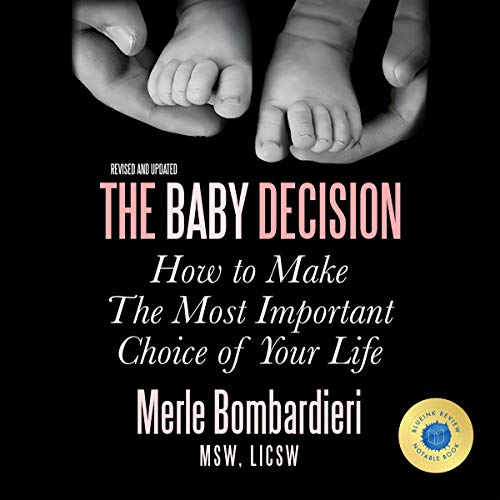 The Baby Decision audiobook cover art