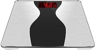 LLSS Báscula de baño Báscula electrónica de Peso Báscula de Peso doméstica precisa Báscula de pérdida de Peso Saludable, Báscula Digital de Grasa