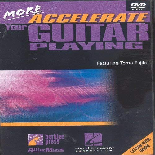 More Accelerate Your Guitar Playing (REGION 1) (NTSC) [Reino Unido] [DVD]