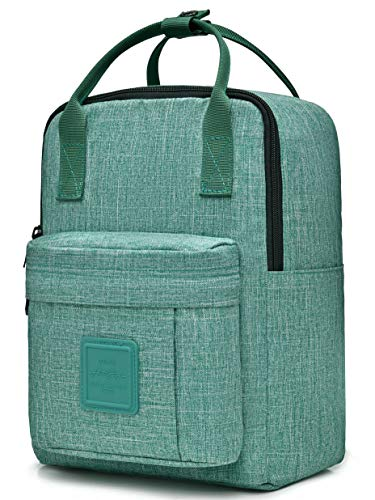 BESTIE 12' Small Backpack for Women, Girl's Cute Mini Bookbag Purse, Little Square Travel Bag, 11.8x8.3x4.7in