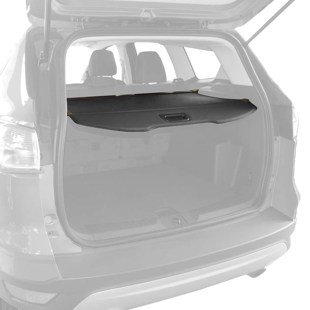 2014 - Black Rubber All Weather 2016 2019 Heavy Duty - 2018 2015 2017 Made in USA ToughPRO Cargo//Trunk Mat Compatible with Ford Escape 2013