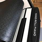Zinniaya 88 Teclas de Silicona Flexible Enrollable Piano Plegable Teclado electrnico