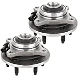 ECCPP Wheel Hub Bearing Assembly New Premium Bearing and Hub Assembly Front 6 Lugs W/ABS 515046