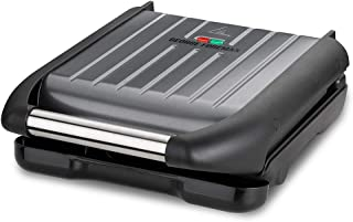 GEORGE FOREMAN MEDIUM STEEL GRILL FAMILY, GREY 1650W - 25041