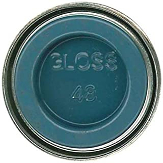 Humbrol Model Enamel Paint No.048 Gloss Mediterranean Blue, AA0521 by AB Gee