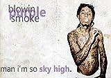 My Little Poster Poster Lil Wayne Smoking Mixer Wand-Kunst