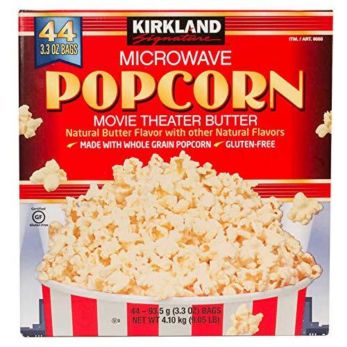 Kirkland Signature Microwave Popcorn: 44-count (3.3 oz)