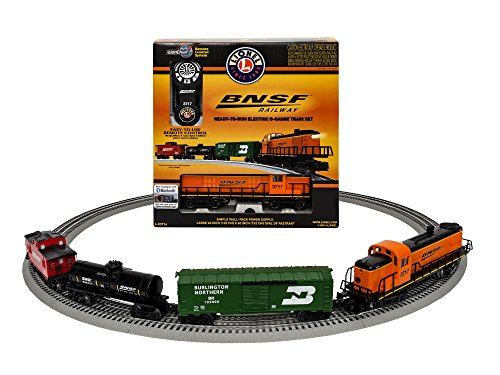 Lionel BNSF RS-3 Scout Freight Set with...