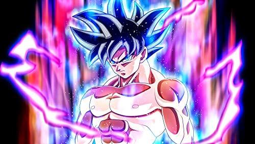 lcyab Puzzle De Madera De 1000 Piezas-Póster Anime Goku Black Hair-Interesantes Juguetes Y Juegos Educativos, El Tamaño Es De 75 * 50 Cm