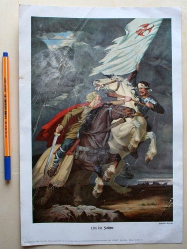 Herbert Kampf: Um die Fahne, Sonderdruck 4342 aus