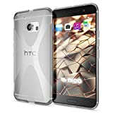 NALIA Case compatible with HTC 10, Phone Cover Ultra-Thin